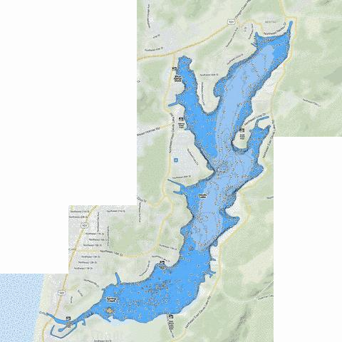 devils lake fishing maps Devils Lake Fishing Map Us Or 01158204 Nautical Charts App devils lake fishing maps