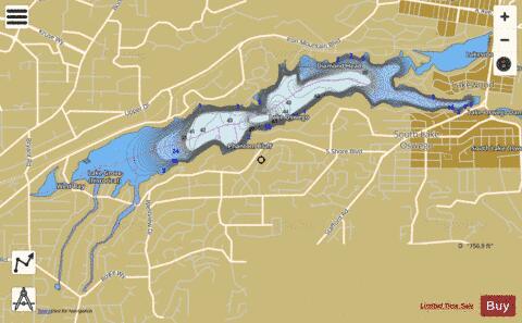 Lake Oswego Fishing Map USORordfwlakeoswego Nautical