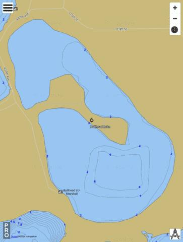 Bullhead Fishing Map - i-Boating App