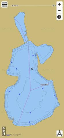 Loss Fishing Map - i-Boating App