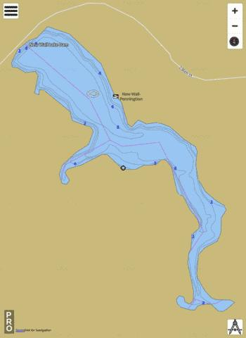 New Wall Fishing Map - i-Boating App