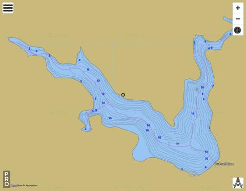 Pudwell Fishing Map - i-Boating App