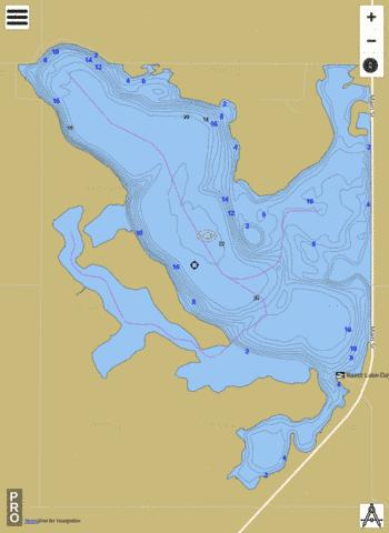 Reetz Fishing Map - i-Boating App