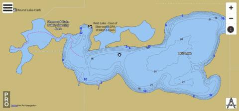 Reid Fishing Map - i-Boating App