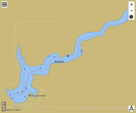 Staum Fishing Map - i-Boating App