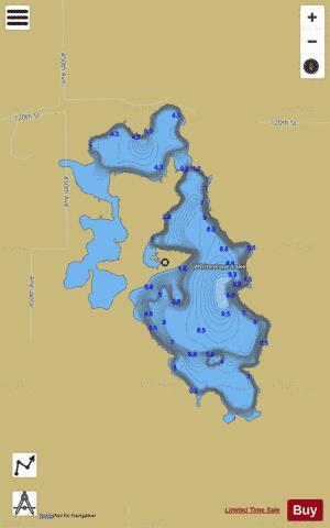 whitestone lake fishing map Whitestone Fishing Map Us Sd Whitestone Roberts Sd Nautical Charts App whitestone lake fishing map