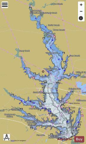 lake conroe water depth map Conroe Fishing Map Us Tx Conroe Nautical Charts App lake conroe water depth map