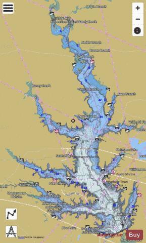 lake conroe fishing map Conroe Fishing Map Us Tx Conroe Nautical Charts App lake conroe fishing map