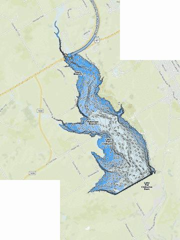 PatCleburne Fishing Map - i-Boating App