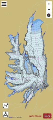 Deadwood Reservoir ( Map ... on deadwood lake idaho map, western idaho road map, kooskia id map,