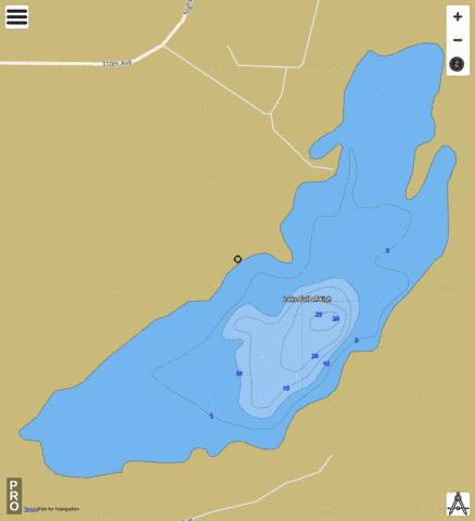 Lake Full of Fish Fishing Map - i-Boating App