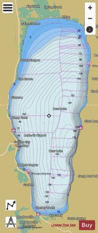 Bear Lake Fishing Map Us Ut 00377174 Nautical Charts App