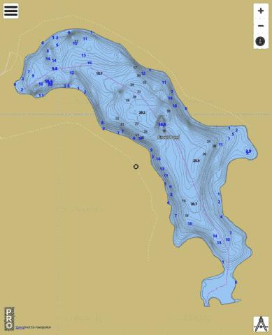 Grout Pond Fishing Map - i-Boating App