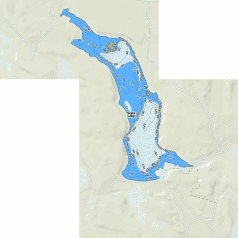 Soda Lake Fishing Map Us Wa 01508487 Nautical Charts App - Soda-map-of-the-us