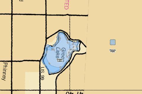green lake seattle map Green Lake Reservoir Fishing Map Us Wa 01513930 Nautical green lake seattle map
