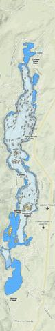 Curlew Lake Fishing Map - i-Boating App
