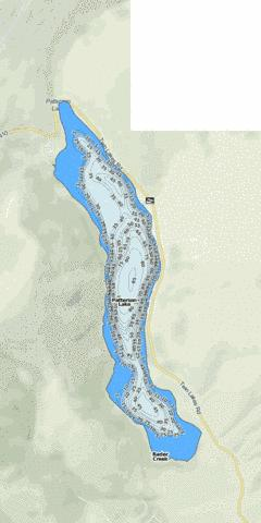 Patterson Lake Fishing Map - i-Boating App