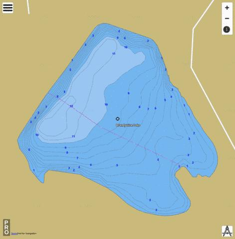 Brandywine Fishing Map - i-Boating App