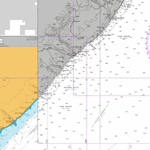 Shixini Point to Port S Johns Marine Chart - Nautical Charts App