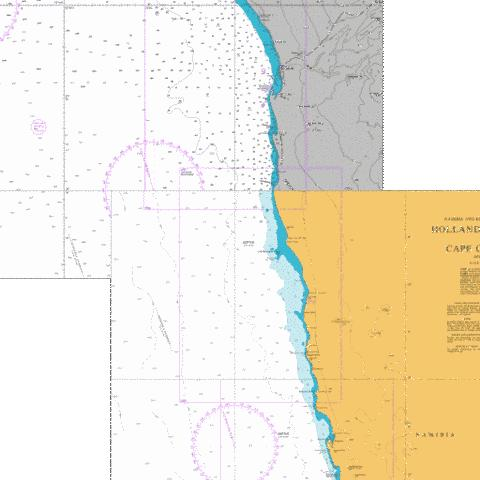 Conception Point to Hottentot Point Marine Chart - Nautical Charts App