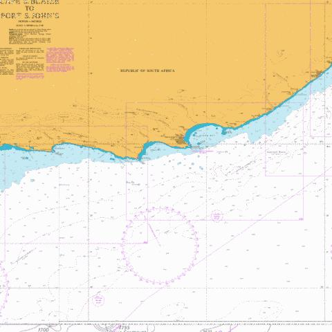Cape St Francis to Great Fish Point Marine Chart - Nautical Charts App