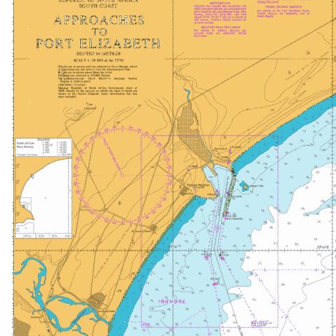 Ngqura Harbour Marine Chart - Nautical Charts App