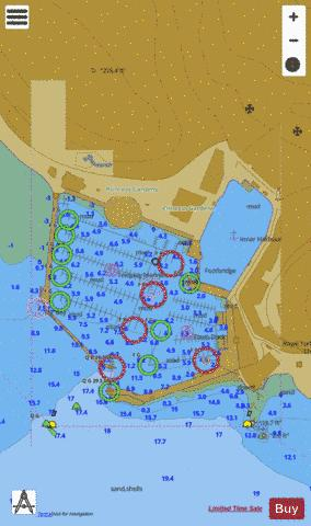 D Torquay Harbour Marine Chart - Nautical Charts App