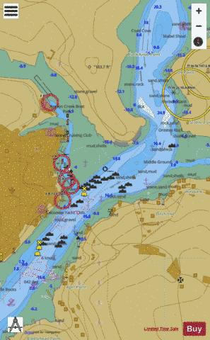 Salcombe Marine Chart - Nautical Charts App