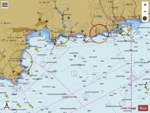 Dodman Point to Looe Bay Marine Chart - Nautical Charts App