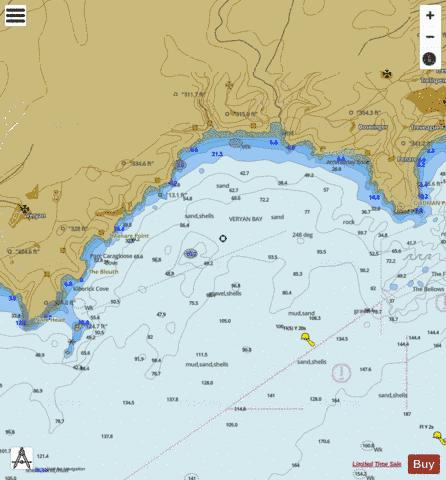 Nare Head to Dodman Point Marine Chart - Nautical Charts App