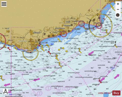 Beachy Head to Dungeness Marine Chart - Nautical Charts App