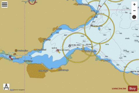 Firth of Forth Isle of May to Inchkeith (Marine Chart : 0734_0 ...