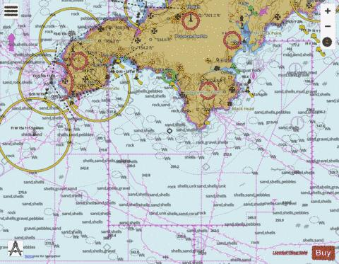 Land's End to Falmouth Marine Chart - Nautical Charts App