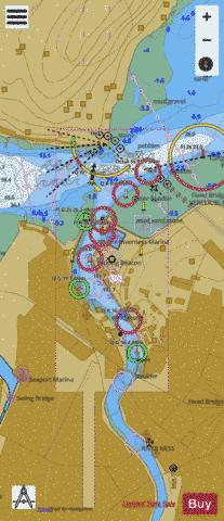 Inverness Marine Chart - Nautical Charts App