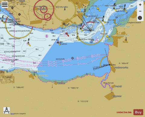 Bristol Channel Nash Point to Sand Point Marine Chart 11520