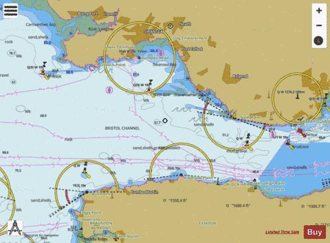 Bristol Channel  Worms Head to Watchet Marine Chart - Nautical Charts App