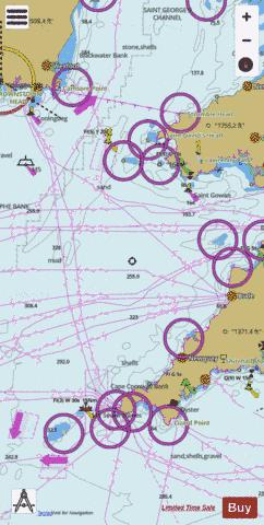 Approaches to the Bristol Channel Marine Chart - Nautical Charts App