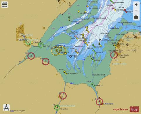 The Wash Ports Marine Chart - Nautical Charts App