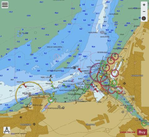A King Road Marine Chart 18591 Nautical Charts App
