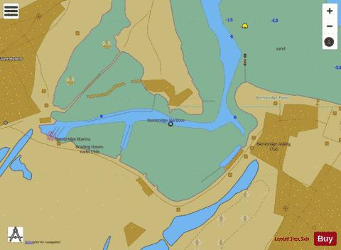 E Bembridge Harbour Marine Chart - Nautical Charts App