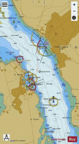 Strangford and Portaferry Marine Chart - Nautical Charts App