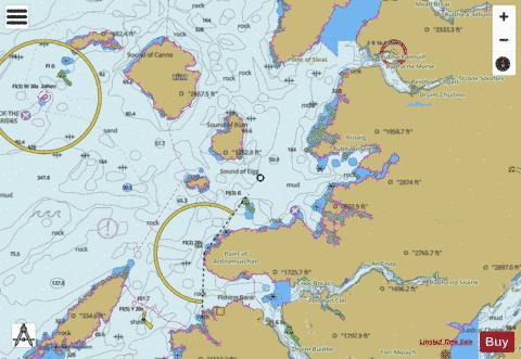 Point of Ardnamurchan to the Sound of Sleat Marine Chart - Nautical Charts App