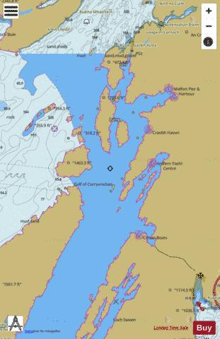 Loch Crinan to the Firth of Lorn Marine Chart - Nautical Charts App