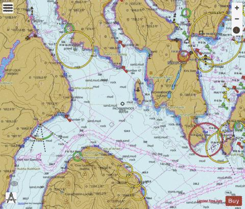 Inchmarnock Water Marine Chart - Nautical Charts App