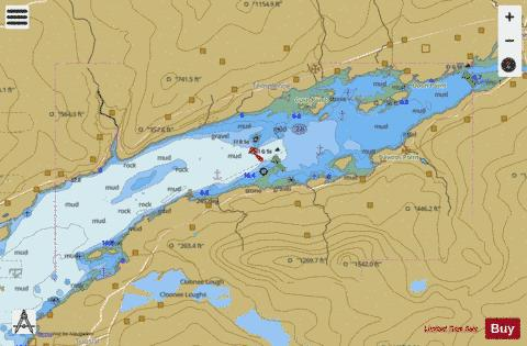 Upper Kenmare River Marine Chart - Nautical Charts App