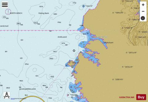 Kinlochbervie and Approaches Marine Chart - Nautical Charts App