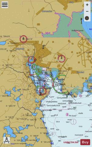 Stornoway Harbour Marine Chart - Nautical Charts App