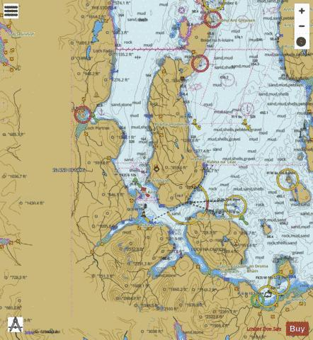 A Sound of Raasay Marine Chart - Nautical Charts App