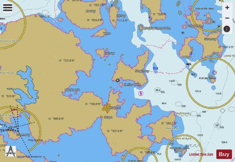 Approaches to Kirkwall Marine Chart - Nautical Charts App