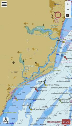 C Rivers Ore and Alde Marine Chart - Nautical Charts App